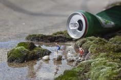 Londres se llena de instalaciones de arte urbano en miniatura | The Creators Project