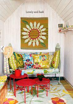 Swedish artist and designer Gudrun Sjõdén's new fall home collections. gudrunsjoden.com