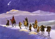 Following the Star - art by Marcello Corti, via advocate-art