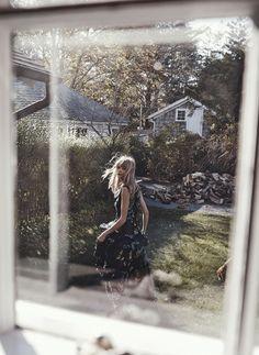 Free Love: Julia Stegner by Benny Horne for Vogue Australia March 2015 - Erdem