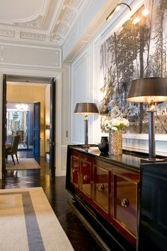 PARIS - RUE PALATINE : APPARTEMENT | PARIS - RUE PALATINE: APARTMENT Designer, Jean-Louis Deniot