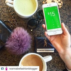 #Repost @wannabefashionblogger with @repostapp.  You know when you're out and about on the weekend and you're grabbing coffee/lunch/drinks with your friends but you don't bring any cash to split the bill (I'm always THAT person that never has cash )? @squ