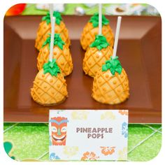 Luau Food Labels with 50 Food Names INCLUDED Luau Party