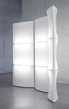 light screen room divider could be a cool way to divide small group space