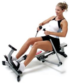 $230.00 The Stamina(r) Body Trac Glider offers a unique full range of motion rowing action with its oar-like rowing arms. Adjustable shock resistance allows you to easily change the level of your workout. Additional features include a multi-function monitor, comfortable molded seat, and sturdy steel frame construction. The unit folds for easy storage when not in use.