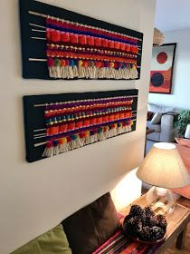 María Elena Sotomayor… weaving looms that enchant ! Weaving Wall Hanging, Weaving Art, Tapestry Weaving, Loom Weaving, Textile Prints, Textile Art, Ethnic Home Decor, Creative Embroidery, Embroidered Clothes
