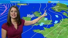 Amanda with the forecast for the East yesterday. Itv Weather, Anna Richardson, Kate Garraway, Smart Outfit, Regional, Looking For Women, Houston, Amanda, Cap