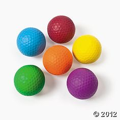 Golf Bouncing Balls for goodie bags!