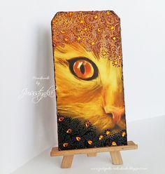 Handmade by Jussstynka: Prześliczny rudzielec