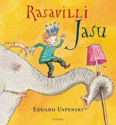 Title: Rasavilli Jasu   Author: Eduard Uspenski   Designer: Christel Rönns Snoopy, Author, Orange, Cover, Fictional Characters, Design, Art, Art Background, Kunst