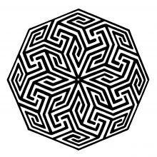 Graphisme Islam 2081-BM