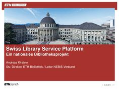 Why Mendeley Institutional Edition at ETH Zurich? Implementation of MIE at ETH Zurich Looking back: experiences with MIE so far Looking ahead: plans and wishes