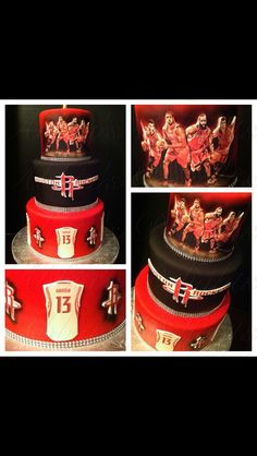Love this cake and also love my Houston Rockets!