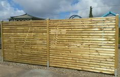 Fencing panels from Hartwell & Co. These panels are stackable reducing bulk and weight for transport.
