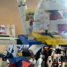 Il più realistico #gundam RX78-2 in #LEGO lo trovate al Japan Town sala Canova, presso lo stand IGB/OrangeTeam.  900 pezzi oltre 4 mesi di lavoro. Venite a trovarci!! #orangeteam #otlug #pisabrickart  #luccacg15 #lucca #luccacomix #igb #moc