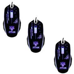 Mua Bộ 3 Chuột chơi game có dây và đèn Led đổi 7 màu Mouse gaming SCH-02X5 (Đen) chính hãng, giá tốt tại Lazada.vn, giao hàng tận nơi, với nhiều...