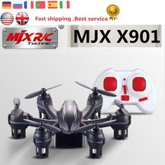 RC Quadcopter MJX X901 Mini Drones with 2.4GHz 6 Axis Gyro Hexacopter with 3D Roll Stumbling Function Remote Control Helicopter
