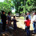 Bella Vista: Chavez recorrió obras de ampliación de redes de agua en Bº Norte