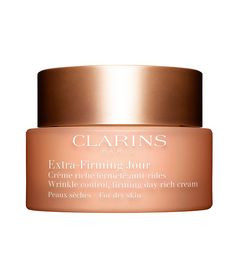Clarins Extra-Firming Wrinkle Control Firming Day Cream Broad Spectrum SPF 15 - All Skin Types, oz./ 50 mL Nu Skin, Oily Skin, Sephora, Firming Cream, Skin Firming, Cream For Dry Skin, Anti Ride, Les Rides, Anti Aging
