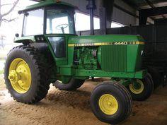 john deere 4440 best tractor on the farm;)