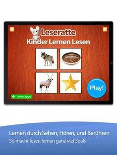 Leseratte   iOS App für Kinder