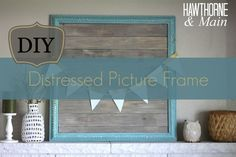 Come learn how easy it is to take a picture frame and give it an antiqued look.  Think about all the different color combinations you could use!