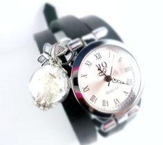 Armbanduhr*Wickeluhr    von tinas_schmucktruhe auf DaWanda.com