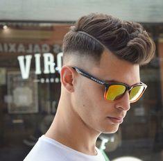 peinados para hombres con pelo corto y grueso