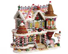 Lemax Christmas Villages Collectors Website - Ginger Sweet Manor - got it! Disney Christmas Village, Christmas Village Display, Christmas Town, Christmas Villages, Christmas Holidays, Christmas Decorations, Blue Christmas, Christmas Presents, Christmas Ideas