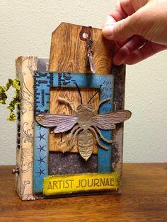 Cheryl's Paper Artz: Worn Cover CC3C #13