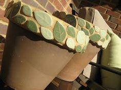 mosaic clay pots | Clay Pot mosaic project | Crafts