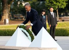 Obama mourns dead in Hiroshima, calls for world without nuclear arms - http://conservativeread.com/obama-mourns-dead-in-hiroshima-calls-for-world-without-nuclear-arms/