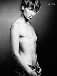 Breast cancer survivors shot by fashion photographer David Jay
