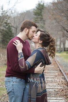 Engagement Photoshoot. Romantic couple, shot in Milford, NJ