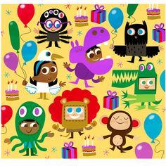 Chris Dickason - professional children's illustrator, view portfolio