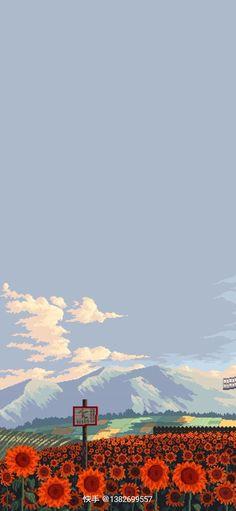 Whats Wallpaper, Soft Wallpaper, Aesthetic Pastel Wallpaper, Kawaii Wallpaper, Cartoon Wallpaper, Aesthetic Wallpapers, Anime Backgrounds Wallpapers, Anime Scenery Wallpaper, Cute Wallpapers