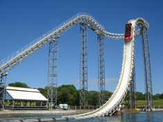 A Free fall water flume/chute ride, they already have a similar ride, but not like this one!