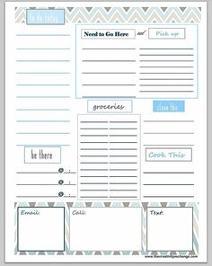 Free Printable ToDo Lists  Cute  Colorful Templates  Free