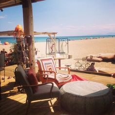 Instagram media by reginebedot - Le poulpe Leucate #niceplace #restaurantdeplage #leucate #lepoulpe #beach #ontheroad