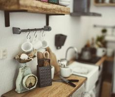 Miniature kitchen details; 1/12 scales