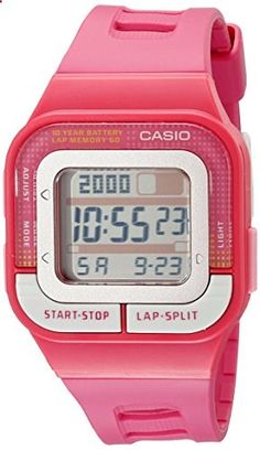 Casio Women's SDB100-4A Sport Watch. Go to the website to read more description.