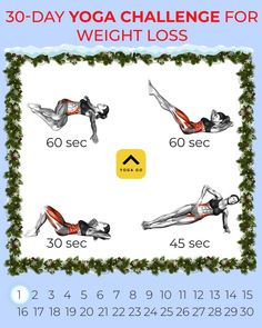 Workout For Flat Stomach, Belly Fat Workout, Butt Workout, Wellness Fitness, Physical Fitness, Yoga Fitness, Health Fitness, Weight Loss Workout Plan, Yoga For Weight Loss