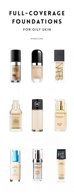 The 10 best full-coverage foundations for oily skin. I use the Makeup Forever Ultra HD foundation and it's a blessing. It has full coverage (better that MAC's highest coverage foundation), feels super light on my skin (I can't even tell it's there), and stays the whole day!