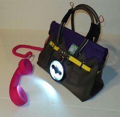 Every Girl Needs a Batgirl Birkin Bag [DIY]