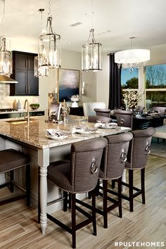 5 Kitchen Design Trends to Take From Model Homes - Contrasting ...