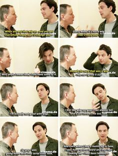 Sebastian Stan about the hair of the Winter Soldier being his