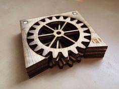 Gear Coasters by eweinhoffer - Thingiverse