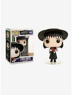 Beetlejuice Lydia Deetz Vinyl Figure - BoxLunch Exclusive I, myself, am strange and unusual. presents a stylized vinyl collectible figure of Lydia Deetz from the hit film, Beetlejuice. A BoxLunch Exclusive! Funko Pop Dolls, Funko Pop Figures, Vinyl Figures, Action Figures, Funko Toys, Funk Pop, Lydia Beetlejuice, Beetlejuice Halloween, Funko Pop Display