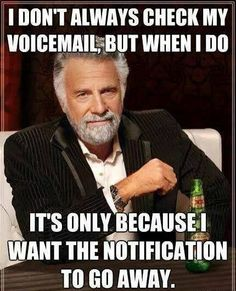 Checking Voice Mail #Funny, #Mailman, #Telephone, #Voice