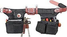 Occidental Leather 9515 Adjust-To-Fit Stronghold Framer Framing Tool Bag Best Tool Belt, Occidental Leather, Adjustable Weights, Shape Crafts, Hand Guns, Tools, Stuff To Buy, Bags, Fit